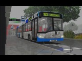 OMSI 2. Map Pobarowo, Line 183, Solaris Urbino 15. Part 2