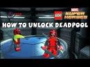 Как открыть Дедпула и всех персонажей в Lego Marvel Super Heroes (Часть 4)
