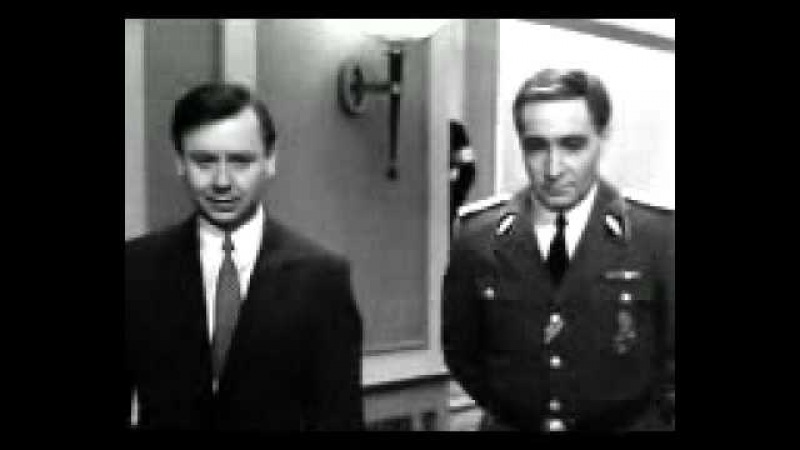 Штирлиц и Шеллинберг обсуждают профессию адъютантов