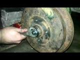 Замена  подшипника ступицы заднего колеса VW Passat B3
