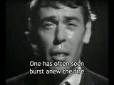 Ne me quitte pas (Jacques Brel) - English subtitles
