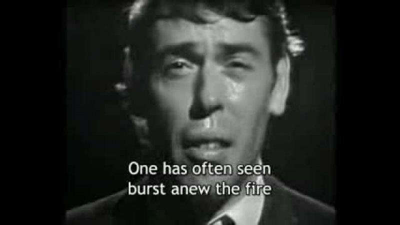 Ne me quitte pas (Jacques Brel) - [English subtitles]