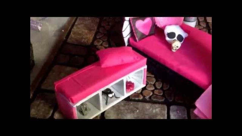 Как сделать коробку для кукол самоделушки
