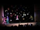Открытие фестиваля Наш театр 11.04.2015 Представление жюри и миниатюра Все прыгаем
