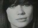 Francoise Hardy ♫ Mon amie la rose / original Swiss TV 1965