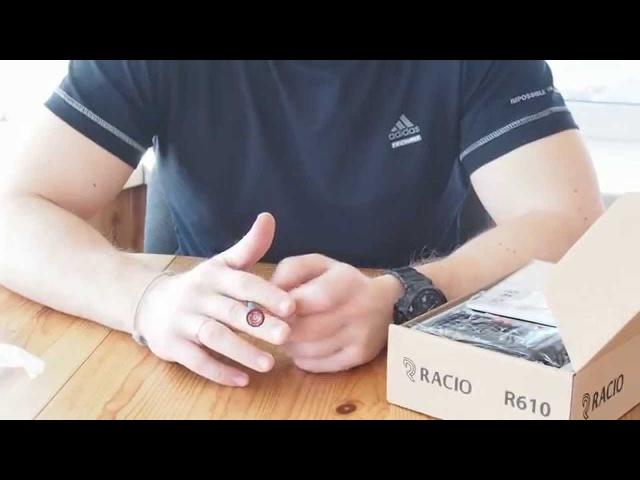 Двухдиапазонная дешевая радиостанция Racio R610