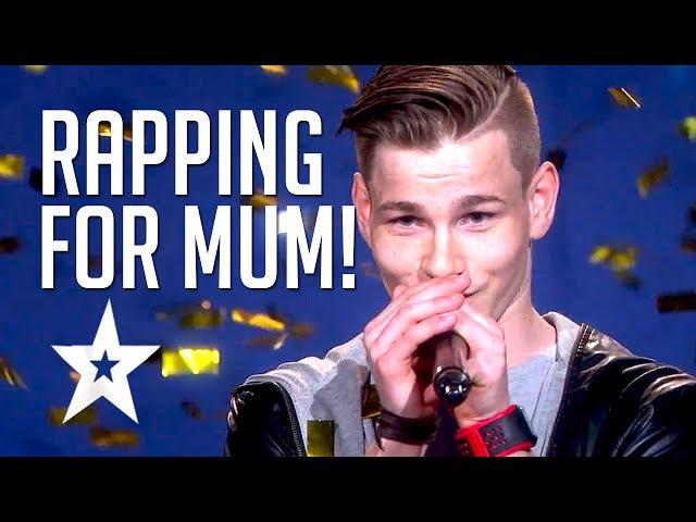 'Million Questions' Patrick Jørgensen | Rap For His Mum By Norwegian Rapper | Got Talent Global