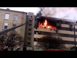 18+.  Пожар фабрике возник из-за грубых нарушений техники безопасности. Люди выпрыгивали из окон...