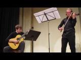 Niccolo Paganini - Sonate №3 (Andrii Pavlov - violin, Dmitriy Radzetckiy - guitar)