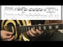 Farewell Ballad by Zakk Wylde (Music Video Sheet) slow and normal speed