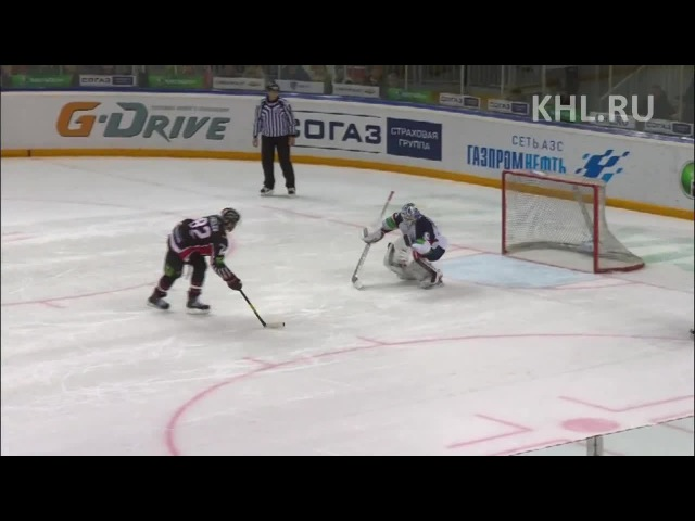 КХЛ (Континентальная хоккейная лига) Хайлайты 2012 2013 Авангард - Слован 2:3Б 20.01