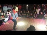 Veusty vs Sarah Bidaw House Dance UK 2014-Final