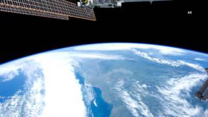 Europe In Orbit ISS   Ultra HD 4K Resolution