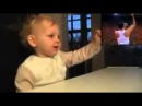 This baby is the best fan of Freddie Mercury / Этот ребенок лучший фанат Фреди Меркури