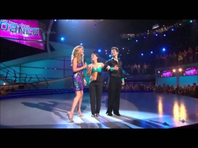 SYTYCD Season 3 ~ Top 14 Pasha Sara West Coast Swing