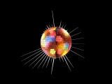 Футаж шар для дискотеки