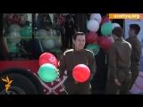 #AzattyqTV: В Астане песни о «Великой победе» поют с автобуса