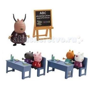 Игровой набор идем в школу, Peppa Pig