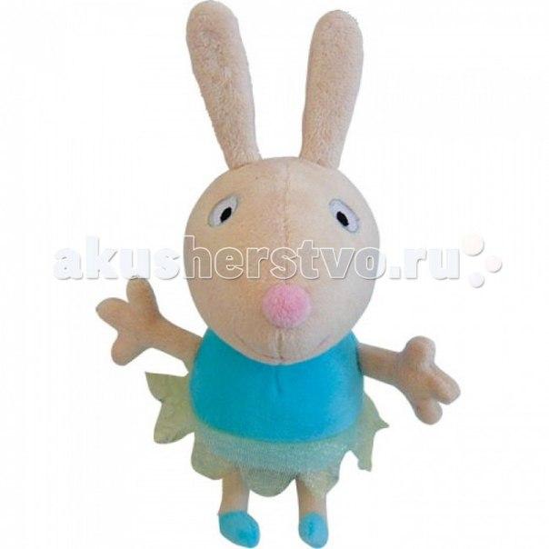 Мягкая игрушка Кролик Ребекка балерина 20 см, Peppa Pig