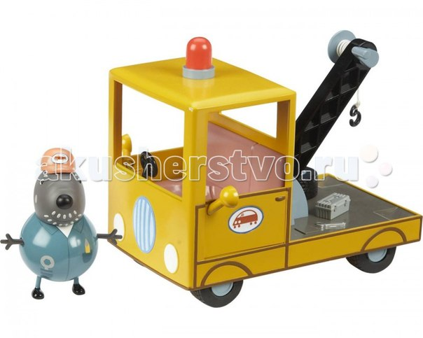 Игровой набор машина погрузчик с фигурками, Peppa Pig