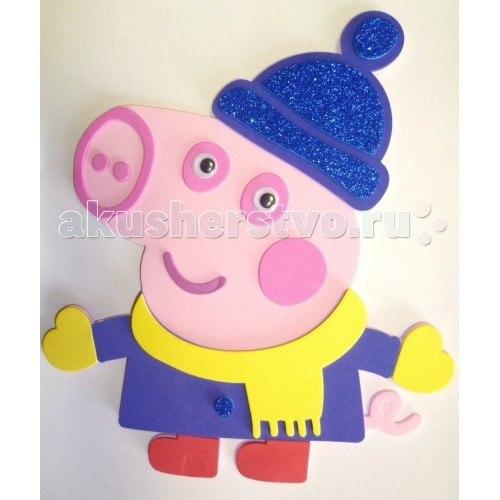 Аппликация джордж 28293, Peppa Pig