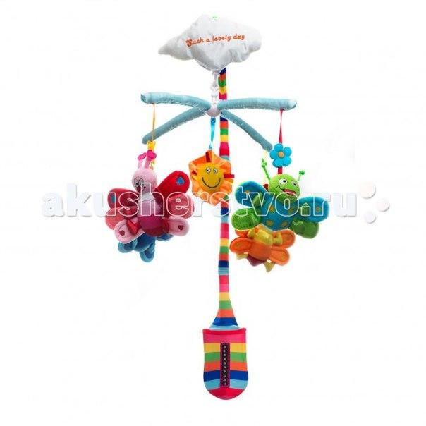 Мобиль для детской кроватки Бабочки 10112, WeeWise