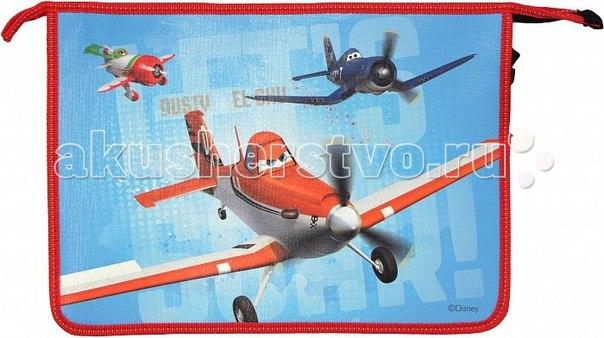 Самолеты папка для тетрадей на молнии 23010, Disney