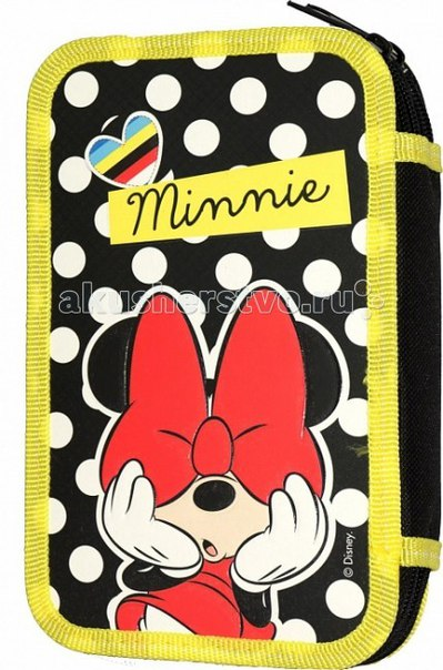 Минни пенал двухсекционный pop art 22624, Disney