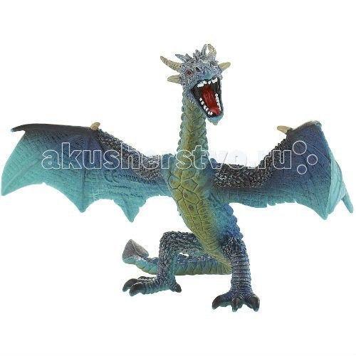 Фигурка дракон бирюзовый 17,8 см, Bullyland