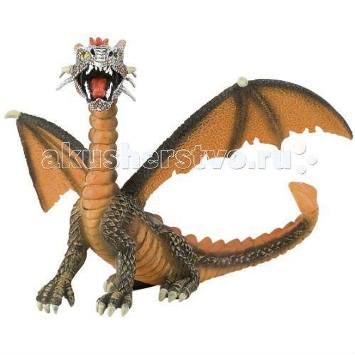 Фигурка дракон оранжевый 11 см, Bullyland