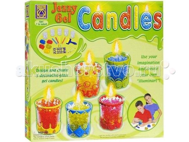 Набор для творчества гелевые свечи, Creative