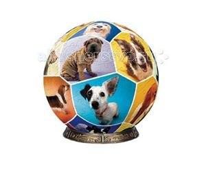 Шаровой пазл мир собак 60 деталей, Pintoo