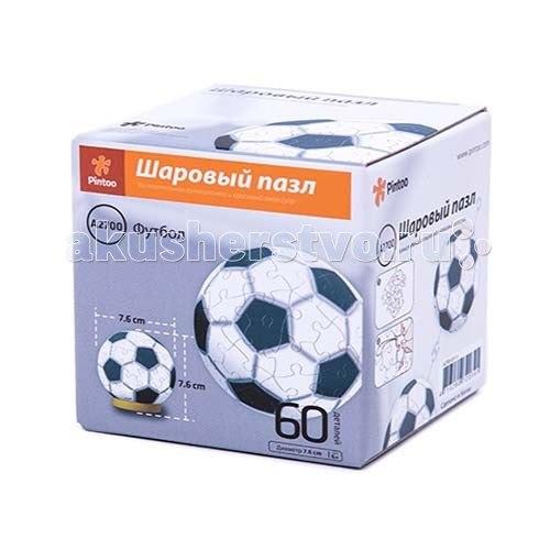 Шаровой пазл футбол 60 деталей, Pintoo