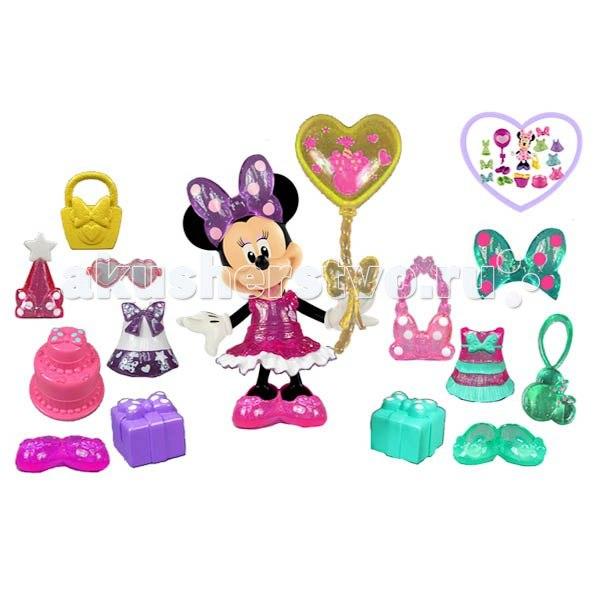 Mattel набор minnie mouse готовимся ко дню рождения, Fisher Price