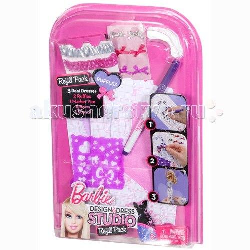 Кукла Дополнительный набор Модная дизайн-студия, Barbie