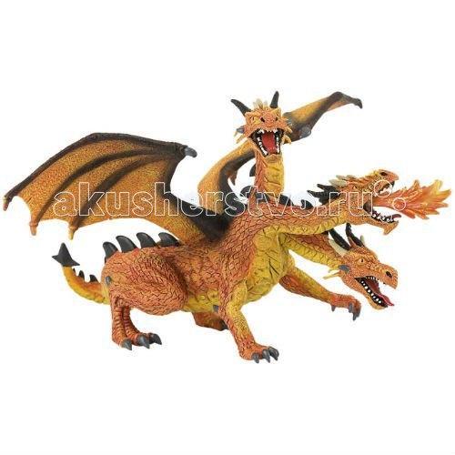 Фигурка трехголовый дракон 20 см, Bullyland