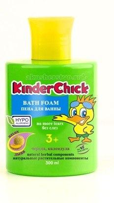 Пена для ванны дыня 300 мл, KinderChick