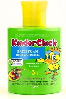 Пена для ванны тутти-фрутти 300 мл, KinderChick