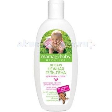 Пена-гель нежная для ванны и душа 300 мл, Mama&Baby
