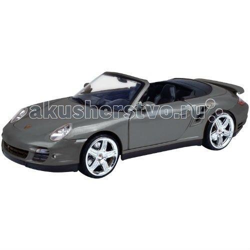 Машинка коллекционная porsche 911 turbo cabriolet 1:18, MotorMax