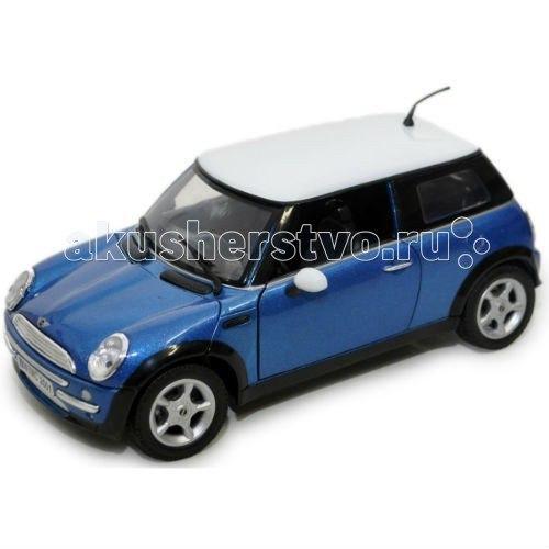 Машинка коллекционная mini cooper в масштабе 1:18, MotorMax