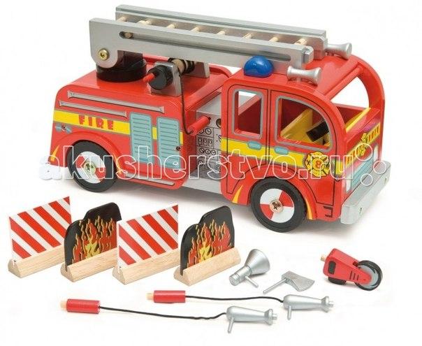 Игровой набор пожарная машина, LeToyVan