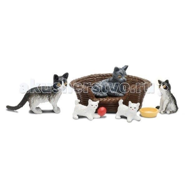 Фигурки смоланд кошачья семья, Lundby