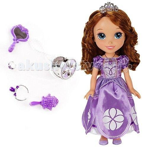 Кукла софия принцессы дисней 37 см. с украшениями для куклы, Disney