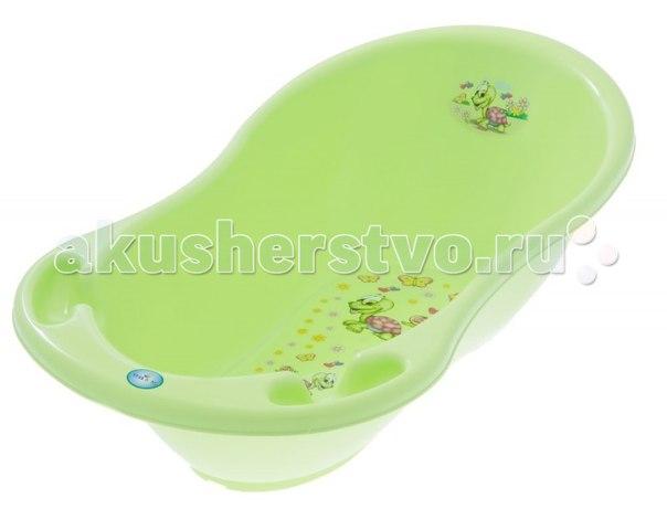 Ванночка для купания веселая черепаха 86 см, Tega Baby