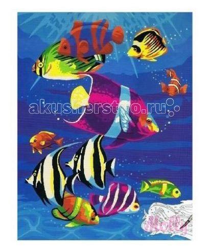 Картина по номерам подводный мир 30 х 40 см, Molly