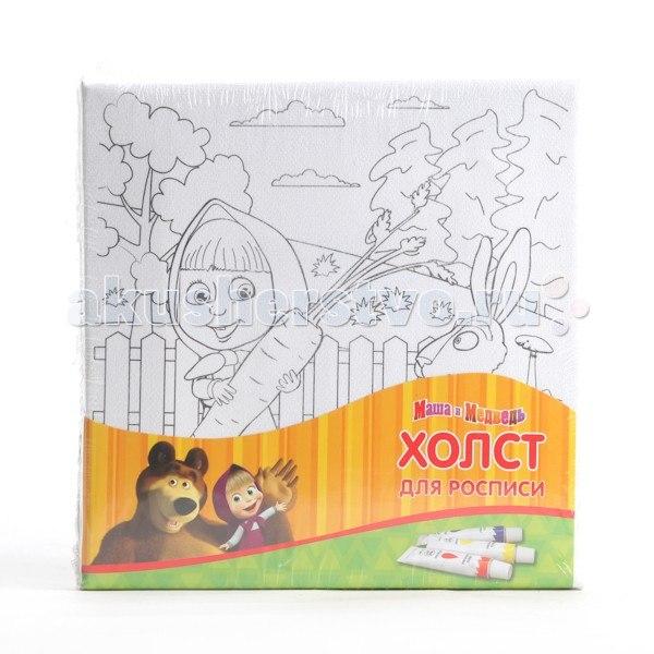 Холст для росписи маша и медведь 1515-mm, Играем вместе
