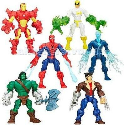 Marvels hero mashers разборные фигурки (в ассортименте), Hasbro