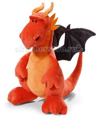 Мягкая игрушка Красный дракон сидячий 30 см, Nici