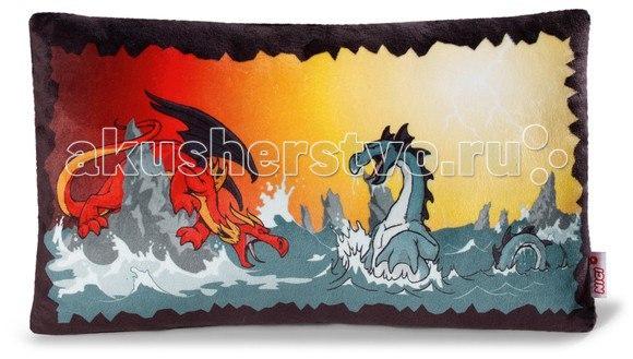 Подушка Битва драконов 43х25 см, Nici